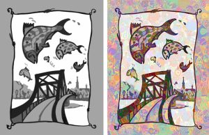 "Paint.Team Custom Artwork Template, ""Shad Shenanigans"""