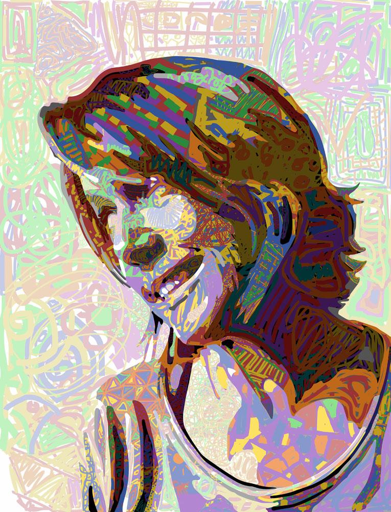 Paint.Team, Kelly Portrait